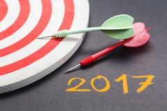 2017 Ziele Lizenzfreies Stockbild