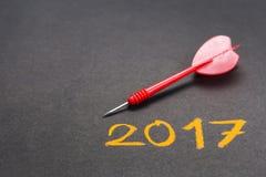 2017 Ziele Lizenzfreies Stockfoto