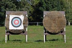 Ziele für Bogenschießen Stockfoto