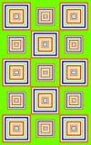 zieleń jaskrawy ostry wzór Zdjęcia Stock