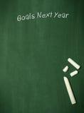 Ziele nächstes Jahr lizenzfreie stockfotografie