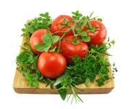 ziele pomidory Obraz Royalty Free