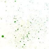 Zieleń punkty farba Zdjęcie Stock
