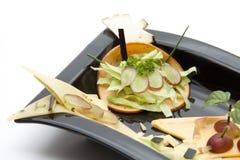 ziele serowy talerz Zdjęcia Stock