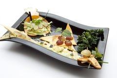 ziele serowy talerz Zdjęcie Royalty Free