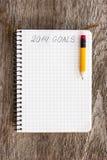 Ziele von Jahr 2014 Stockbild