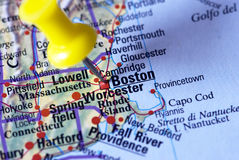 Zieleinheit: Boston - Massachusetts Lizenzfreie Stockfotos
