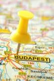 Zieleinheit Budapest stockfotos