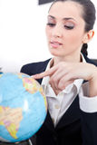 Zieleinheit für neuen Job lizenzfreies stockfoto