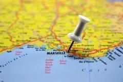 Zieleinheit: Marseille. lizenzfreies stockbild