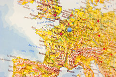 Zieleinheit: Paris Stockfoto