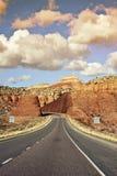 Zieleinheit Utah stockfotografie