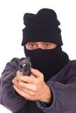 Zielen einer Gewehr Stockfotografie