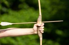 Zielen von Bogenschützen Lizenzfreie Stockbilder