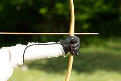 Zielen von Bogenschützen Stockfotos