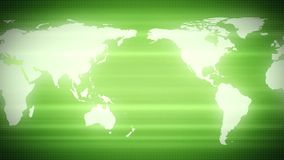 Zieleni światowej mapy ziemi kontynenty ilustracji