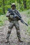 Zieleni berety snajperscy Zdjęcie Royalty Free