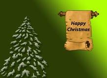 Zieleni Boże Narodzenia Fotografia Stock