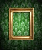 zieleni brudna tapeta Zdjęcie Stock