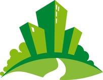 zieleni domy Obraz Royalty Free