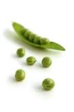 zieleni grochy Obraz Royalty Free
