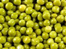 zieleni grochy Obrazy Royalty Free