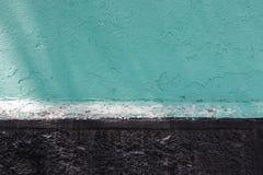 Zieleni i czerni ścienna tekstura Obrazy Stock
