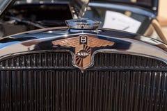 Zieleni i czerni Nash 887 1931 sedan Zdjęcia Royalty Free