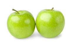 Zieleni jabłka Obraz Stock