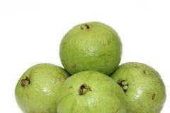 Zieleni Jabłczani Guavas Zdjęcie Stock