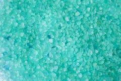 zieleni kąpielowa sól Zdjęcie Stock