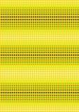 Zieleni kropki na żółtym tle Zdjęcia Stock
