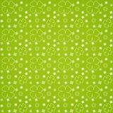 zieleni liść wzór bezszwowy Obrazy Royalty Free
