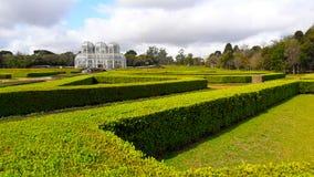 Zieleni ogródy Curitiba ogród botaniczny, Brazylia obrazy royalty free