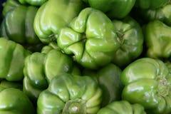 zieleni pieprze Zdjęcia Stock
