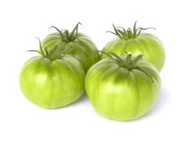 zieleni pomidory Fotografia Stock