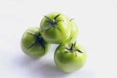 zieleni pomidory Zdjęcie Royalty Free