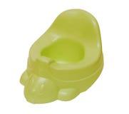 zieleni potty odosobniony plastikowy Obrazy Royalty Free