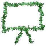 zieleni ramowy xmas Zdjęcie Stock