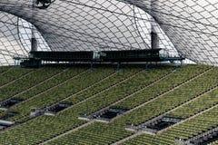 Zieleni siedzenia przy Olimpijskim stadium Monachium Niemcy Obrazy Royalty Free
