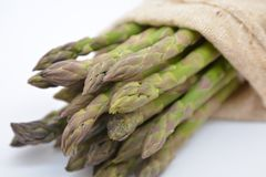 Zieleni Szparagowi warzywa Zdjęcie Stock