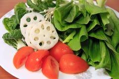 zieleni warzywa Fotografia Royalty Free