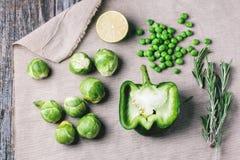 Zieleni warzywa Fotografia Stock
