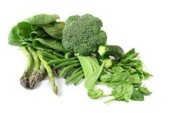 zieleni warzywa Zdjęcie Royalty Free