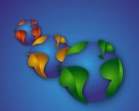 zieleni światy Zdjęcie Royalty Free