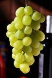 Zieleni winogrona Zdjęcia Stock