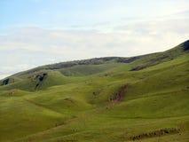 zieleni wzgórza Obraz Stock