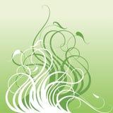 zieleni wzory Obrazy Stock