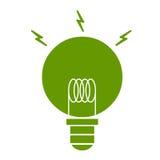 Zielenieje eco energię royalty ilustracja