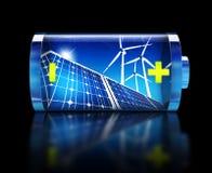 Zielenieje energię Fotografia Stock